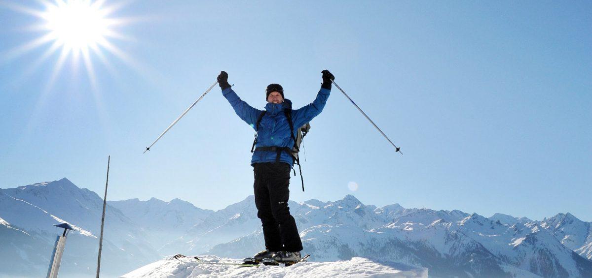Schwebend über den Schnee: Neuer Kick
