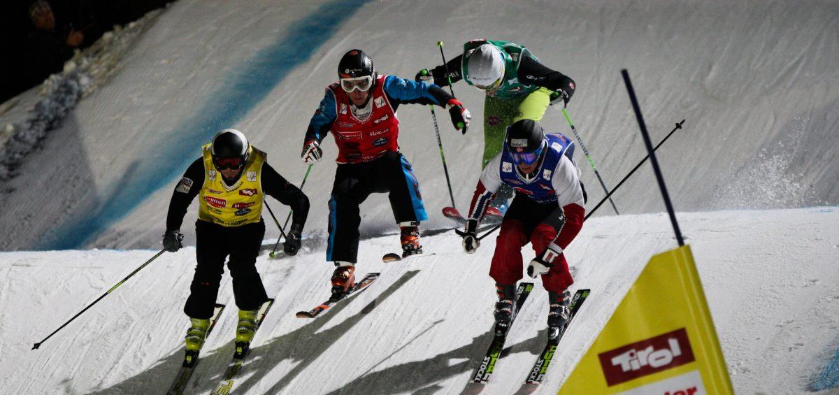Achterbahnfahrt auf Skiern