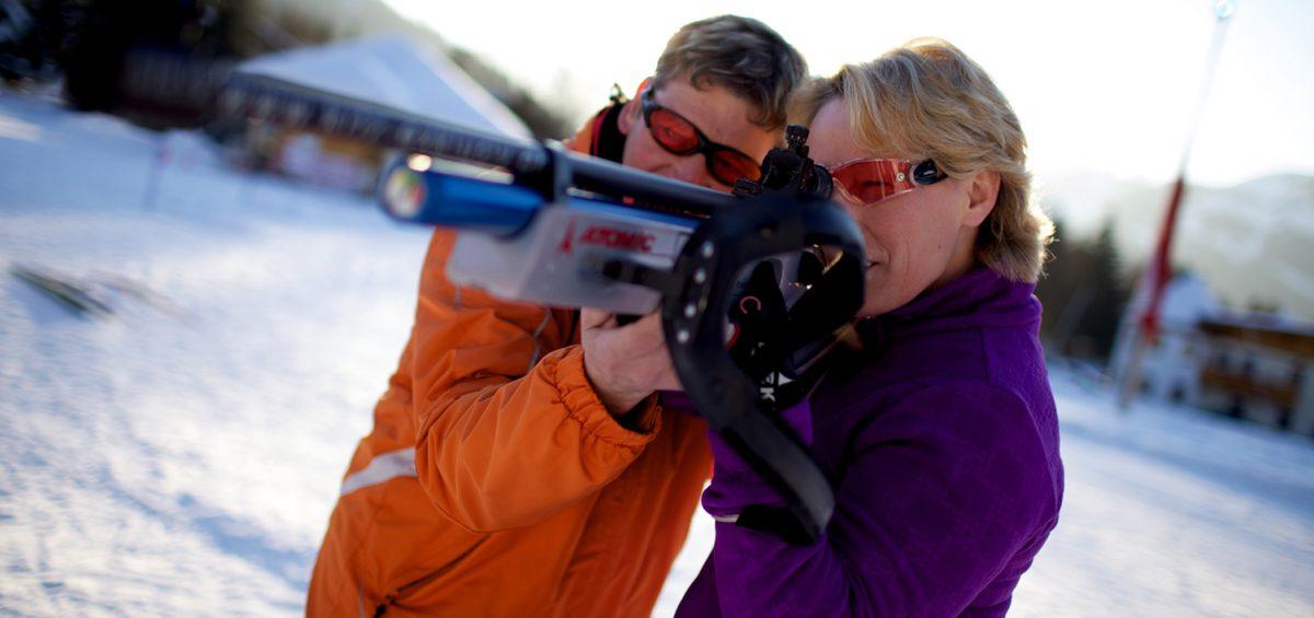 Einmal wie Neuner: Urlaub mit Schuss