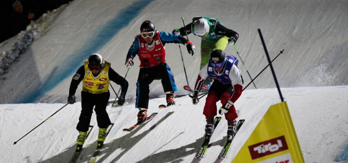 : Als VIP hautnah dabei:  Achterbahnfahrt auf Skiern
