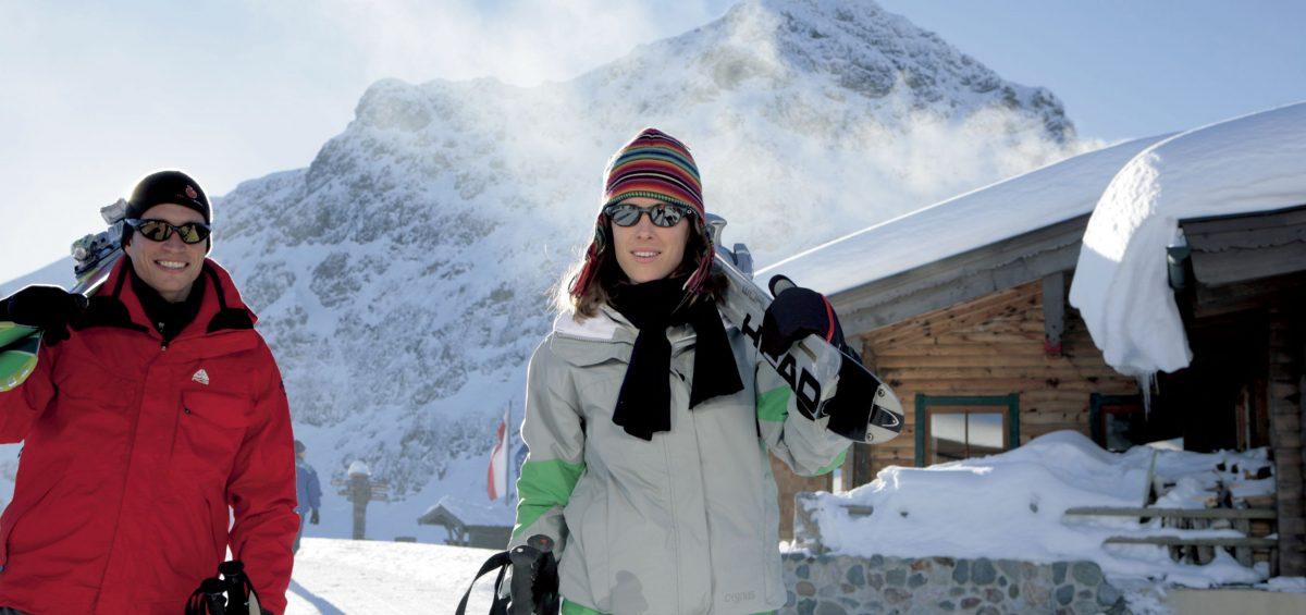 Drei Skiregionen auf einer Tour