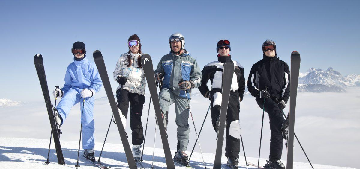 Drei Top-Skigebiete auf die leichte Tour erkunden