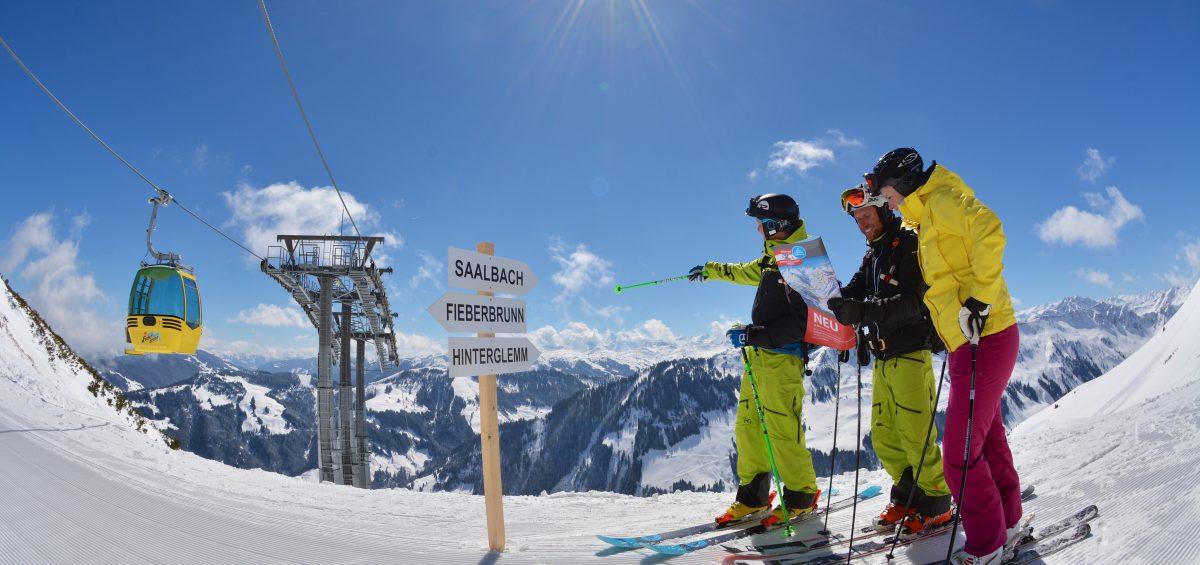 Eis und Heiß in Österreichs größtem Skigebiet
