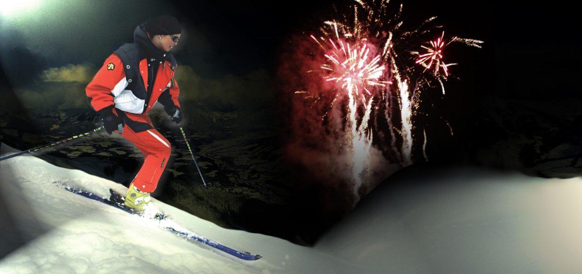 Ski und Rodel im Glanz der Sterne