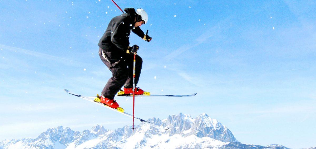 Mit einem Skipass über alle Schneeberge