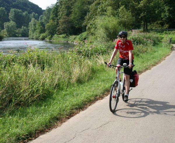 Radweg Sieg - Wasser, Wiesen, Wälder
