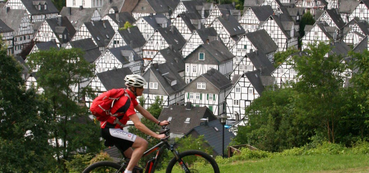 Mit dem E-Bike durch den Westerwald, das Siegerland und Lahntal Motiv 1
