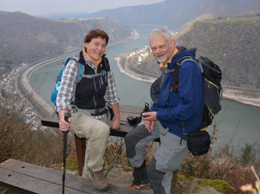 Wanderexperten: Ulrike Poller und Wolfgang Todt