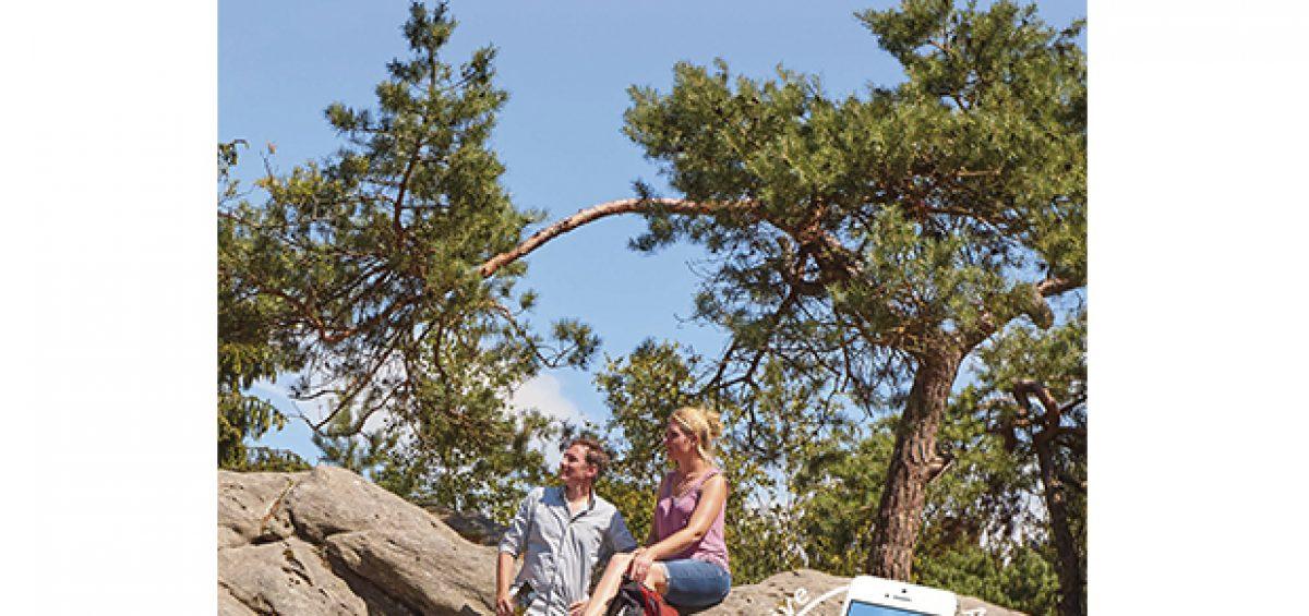 Einfach alles finden: Neuer Wanderführer zu den Teutoschleifen.  Foto:ideemedia