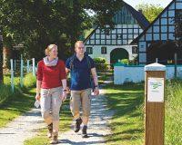 Stadt, Land und Fluß: 17 Premiumwege führen rund um Tecklenburg. Foto: Tecklenburg Tourismus/Schubert