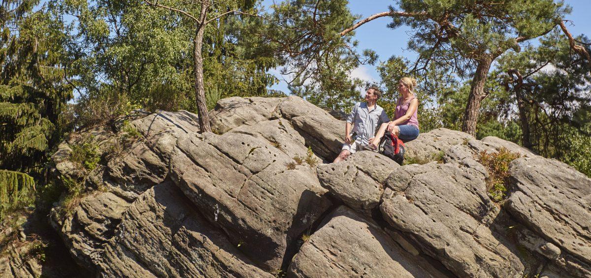 Felsen und mehr: Teutoschleifen. Foto: Tecklenburg Tourismus/Schubert